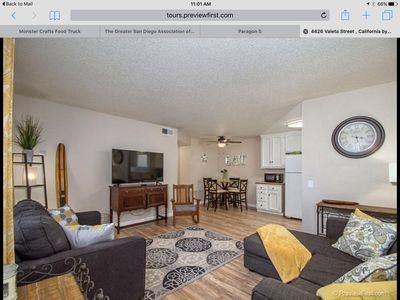 Point Loma/Ocean Beach 2bd/1ba unit ready for fun and relaxation