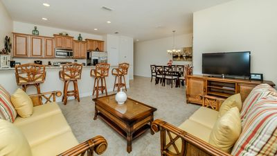 Photo for Near Disney World - Paradise Palms Resort - Feature Packed Spacious 4 Beds 3 Baths Townhome - 4 Miles To Disney