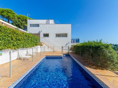Photo for Club Villamar - Modern holiday villa Lloret de Mar with fantastic private swimming pool and beaut...