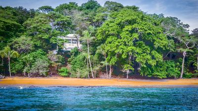 Photo for Saboga: Villa Corral Cove, secluded beachfront property