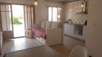 Photo for Apartment with great terraces 3min to the beach. Pk included