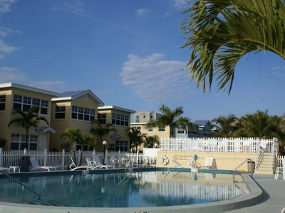 Photo for SPACIOUS 2BR APT! ACROSS THE STREET FROM THE BEACH, POOL!
