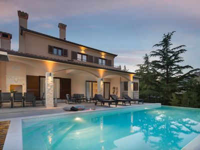 Photo for BRAND NEW luxury and peaceful Istrian villa villa in a quiet location