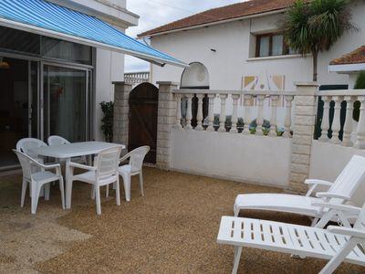Photo for Villa-type Ground Floor Apartment W/ Its Own Spacious Private Terrace Sleeps 4