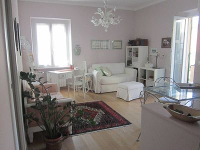 Photo for Lovely apartment near the sea, WiFi-AC