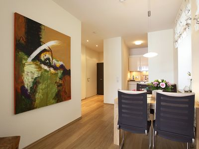 Photo for 70 square meters large, modern suite in the midst of the spa area