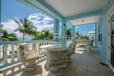 View from your balcony that extends along the entire front of the condo!