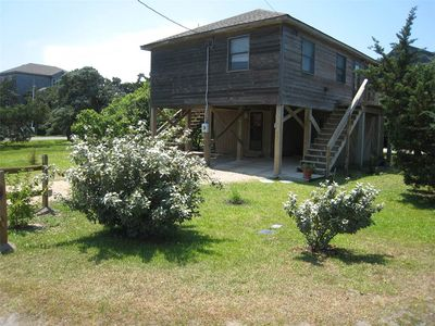 Photo for Cedar Bend:  Two master bedrooms, decks, shaded area under the house.