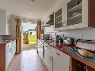 Photo for This two-bed, two-storey property is designed for families.
