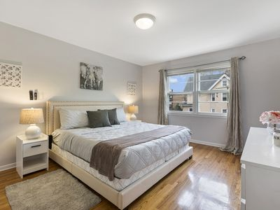 Photo for Close to NYC * FAST WiFi * King Bed * Free Parking