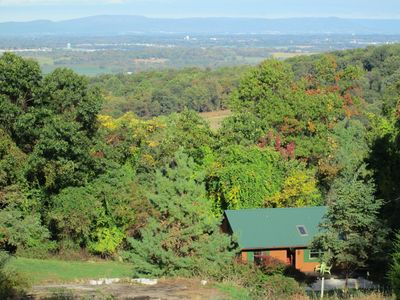 Photo for Sunny And Cozy Little Lodge With A Spectacular View Of The Blue Ridge Mountains