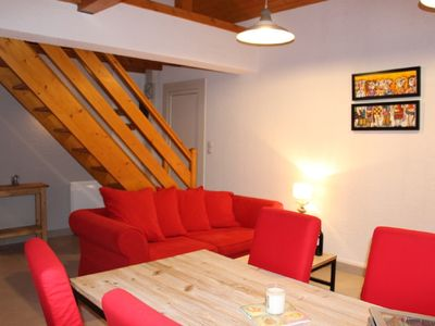 Photo for Luxury apartment-chalet, completely renovated, beautiful lake and slopes view
