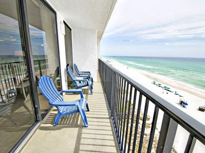 Photo for Gulf FT @Seachase W702 for 8!♥ OPEN Oct 13 to 15 $559! Gulf Views♥Walk2Beach