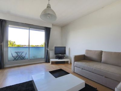 Photo for Nice studio with balcony #Tours #centre #Trainstation #Heurteloup