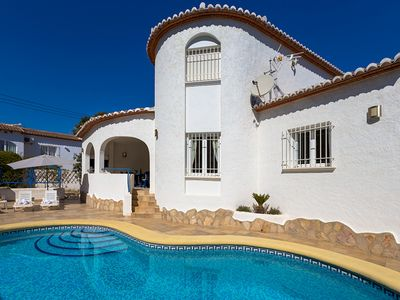 Photo for OLIVOS,nice villa in Benissa for 4 pax with private pool and free wifi