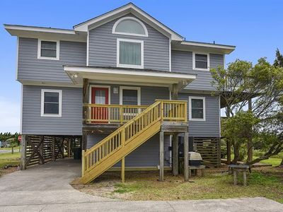 Photo for Semi Oceanfront with Direct Beach Access!  Pet Friendly! Amazing vws! Hot Tub!