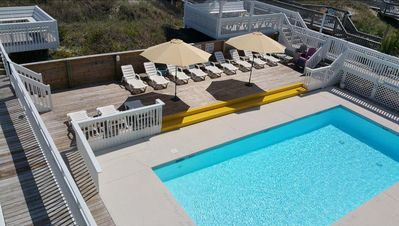 Photo for Oceanfront Accommodations for up to 20 with Pool!