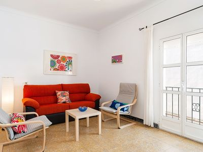 Photo for Apartment Nicolas in Historic Centre Close to Beach with Terrace & Wi-Fi - Only for Families