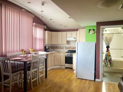 Photo for Awesome  1 Bedroom Apartment about 15 minutes away from Times Square, Sleeps 6