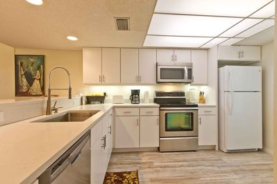 Plenty of kitchen space for you to show off your culinary style