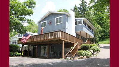 Tranquility on Keuka: Family Retreat with Private Lakefront
