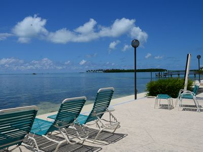 """Photo for """"Pleasant Palms"""" An Oceanside Condo In Downtown Islamorada In The Florida Keys"""