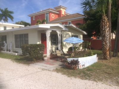 Photo for Lido Beach Vacation on Corner  Beach and  St. Armand Circle  C