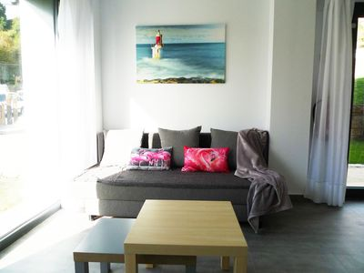 Photo for Apartments with garden, very sunny and quiet with great views
