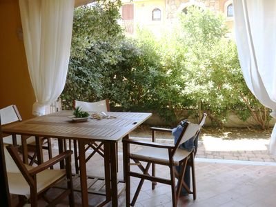 Photo for Viviana apartment in Badesi with private parking.