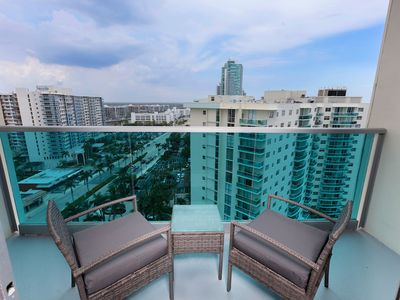 Photo for Beautiful Ocean Front Penthouse with Ocean/ Intercostal View