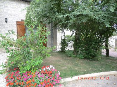 Photo for BIRCH GITE MITOYEN 2/4 PERS. 1 CH. 1 HEATED POOL BED PRIVATE TERRACE