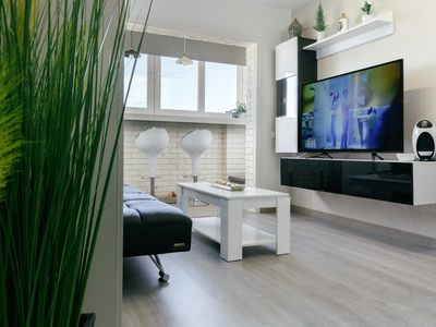 Photo for Atic Beach D-luxe apartment with sea views