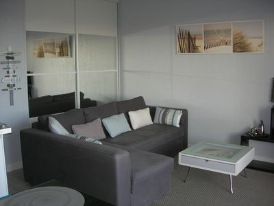 Photo for Apartment 35 m2 comfortable (with wifi and air conditioning) overlooking the village