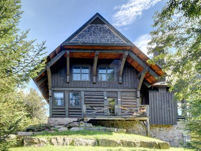 Photo for Beautiful Ski-lodge/Summer House at Lac Superieur, Mont Tremblant