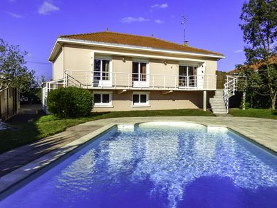 Photo for Beautiful private villa with private pool, TV, balcony, washing machine and parking