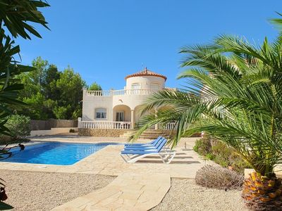 Photo for Beautifully presented spacious 3 bedroom villa with a stunning pool, FREE WIFI