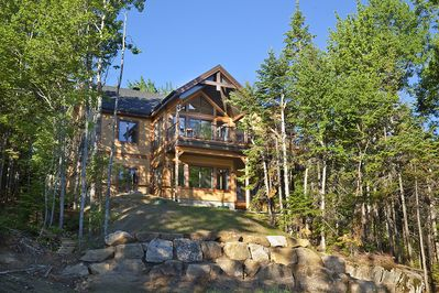Wondrous Mirador 3 Is A Beautiful Four Season Vacation Rental In Quebec A 4Stars Cottage Charlevoix Regional County Municipality Home Interior And Landscaping Analalmasignezvosmurscom
