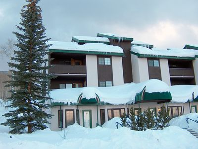 Photo for Powderhorn Ski Resort Luxury Condo. Slopeside, 100 yards to lifts!