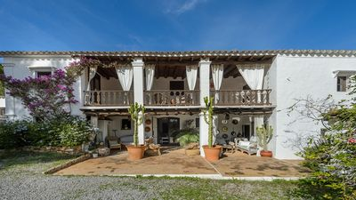 "Photo for Can Bello - Traditional ""Payesa"" Farmhouse that exudes Charm and Character, Private Pool, Chill-out Areas just 4 km to Ibiza Town! - Free WiFi"