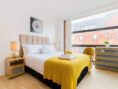 Photo for Our modern stylish apartment1,1miles from city centre.18km to birmingham airport