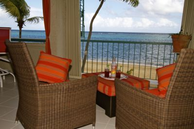 Comfy lounging with a stunning view - all yours! No sharing.