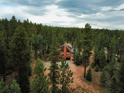 Photo for NEW! Cabin In Duck Creek With Theatre Room, Near Zions and Bryce Canyon