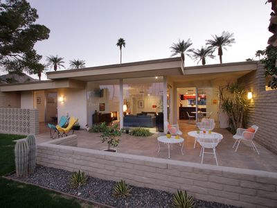 Photo for Beautiful Mid-Century Modern Home in Prestigious Indian Wells