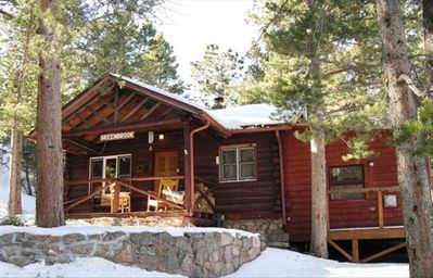 Photo for Enjoy Mountain Living in a Charming Historic Log Cabin