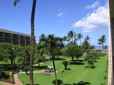 Photo for Best of both worlds quiet location & Maui views.  Relax after fun filled day