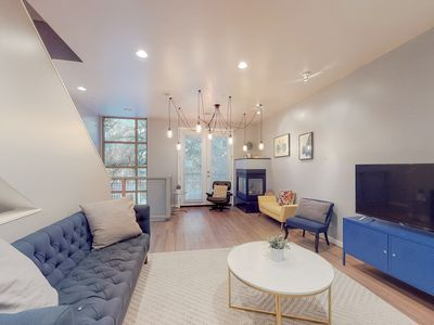 Photo for NEW LISTING! Bright, Dallas townhome w/ a balcony & rooftop patio - dogs OK!