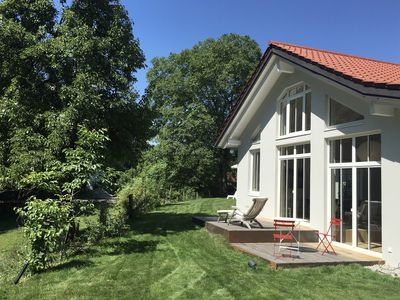 Photo for DESIGN HOUSE on Ammersee near Munich - 500m to the lake