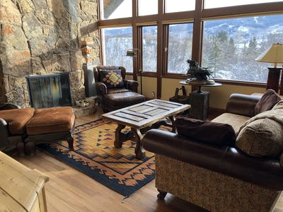 Photo for Sleeps 8- Serene  Snowmass Village Family Home with Stunning Mountain Views