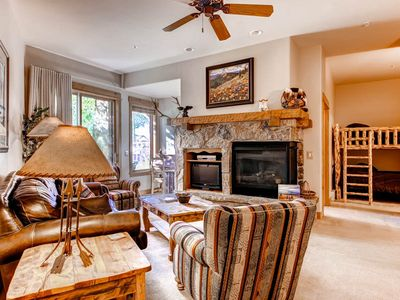Photo for Beautiful Condo Just a Short Walk from Slopes for a Great Ski Vacation!