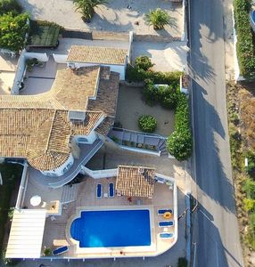 VILLA, splendid sea view, private HEATED swimming pool, AIR CONDITIONING, luxury, Internet
